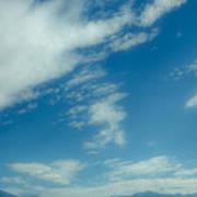 Clouds Over Priest Lake Art Print