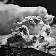 Clouds Over Santa Fe Art Print