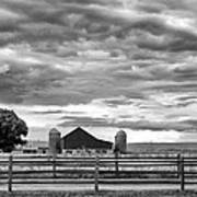 Clouds Over The Upper Midwest Art Print