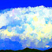Clouds Overhead Art Print