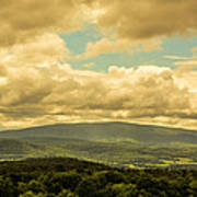 Cloudy Day In New Hampshire Art Print