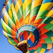Clovis Hot Air Balloon Fest 5 Art Print