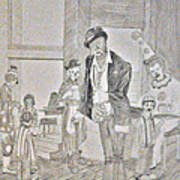 Clown Bar Art Print