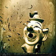 Clown Games  Art Print by Colleen Kammerer