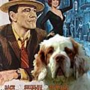 Clumber Spaniel Art - Irma La Douce Movie Poster Art Print