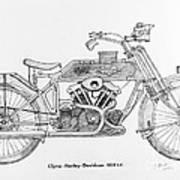 Clyno-harley-davidson Art Print