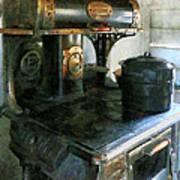 Coal Stove Art Print
