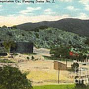 Coalinga Oil And Transportion Co. Pumping Station No. 2 Circa 1910 Art Print
