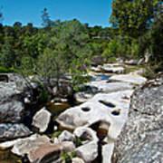 Coarsegold Creek Bed In Park Sierra-ca Art Print
