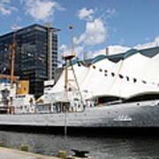Coast Guard 37 - Baltimore Harbor Art Print