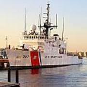 Coast Guard Cutter Art Print
