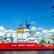 Coast Guard Cutter Mackinaw Art Print