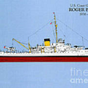Coast Guard Cutter Taney Art Print