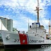 Coast Guard Cutter Taney Art Print