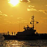 Coast Guard In Paradise - Key West Art Print