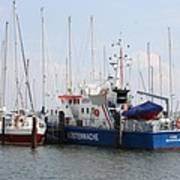 Coast Guard Maasholm Harbor Art Print