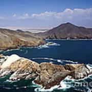 Coast Of Peru Art Print