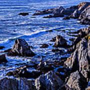 Coastal Cliffs Art Print
