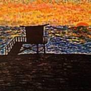 Coastal Contemplation Art Print