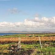 Coastal Landscape County Mayo Art Print