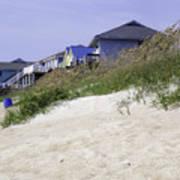 Coastal Living In Topsail Beach Nc Art Print