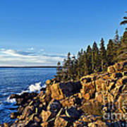 Coastal Maine Landscape. Art Print