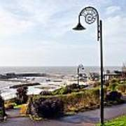 Coastal Overview At Lyme Regis Art Print