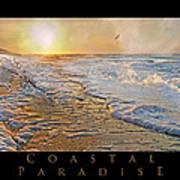Coastal Paradise Art Print