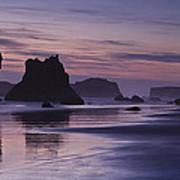 Coastal Reflections Art Print by Andrew Soundarajan