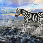 Coastal Stripes I Art Print by Betsy Knapp