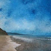 Coastal Walk At Torrey Pines Art Print