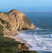 Coastline At Point Reyes National Sea Art Print