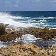 Coastline Surge Art Print