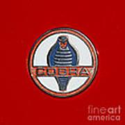Cobra Emblem Art Print