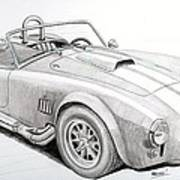 Ac Ford Cobra With 427  Art Print