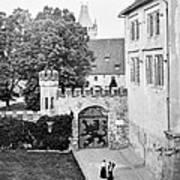 Coburg Castle Germany 1903 Art Print