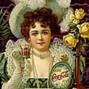 Coca Cola 5 Cents Art Print