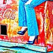 Coca-cola And Stiletto Heels Art Print