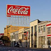 Coca Cola Billboard - San Francisco, California Usa Art Print