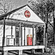 Coca Cola In The Country Art Print