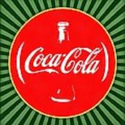 Coca Cola Pop Art  Art Print