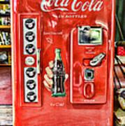 Coca-cola Retro Style Art Print