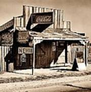 Coca Cola Shack Art Print