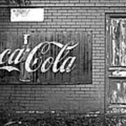 Coca-cola Sign Art Print