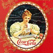 Coca - Cola Vintage Poster Calendar Art Print