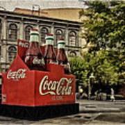Coca-cola Art Print by Wayne Gill