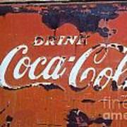 Cocacola Ice Box Art Print