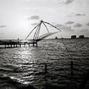 Dusk At Cochin Art Print