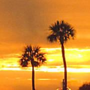 Cocoa Beach Sunset Art Print