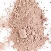 Cocoa Powder Art Print